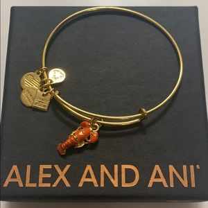 Alex and Ani Lobster bracelet